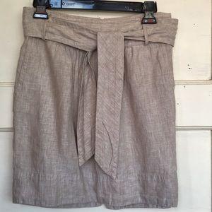 Banana Republic shirt linen skirt size 2